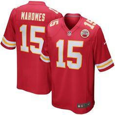 51bcd51a9 Patrick Mahomes II Kansas City Chiefs Nike Game Jersey - Red--small Kansas  City
