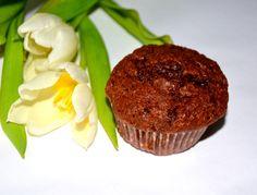 Muffiny czekoladowo bananowe Chocolate muffins