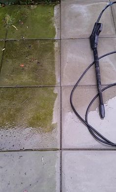 Pressure washing can be sexy.