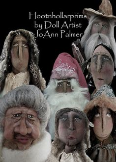 some of my primitive, folk art  dolls I have made in the past ..  https://www.facebook.com/HootnhollarprimsByJoannPalmer