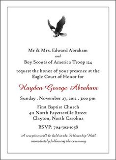 Eagle Scout Letter of Recommendation Template – Examples