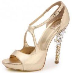 sapato noiva dourado online