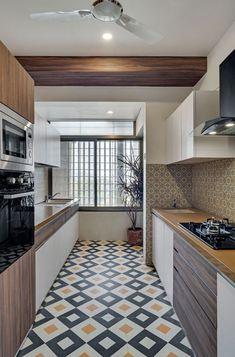 Kitchen Room Design, Home Room Design, Modern Kitchen Design, Home Decor Kitchen, Interior Design Kitchen, Flat Interior Design, Home Decor Furniture, Kitchen Furniture, Modern Kitchen Cabinets