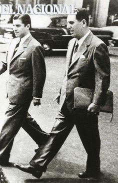 Juan Domingo Perón, presidente de la Argentina en visita a Venezuela. 1973 (ARCHIVO EL NACIONAL)