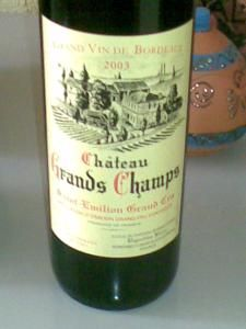 Chateau Grands Champs