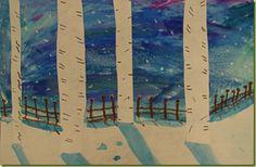 Landscapes, watercolor Techniques