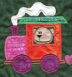 Timmy's Train, Snow Lady Designs