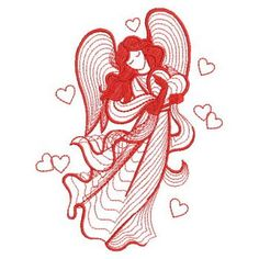 Angel Wings Clip Art, Embroidery Patterns, Machine Embroidery, Rooster, Stencils, Disney Characters, Fictional Characters, Angeles, Coloring