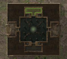 Ziggurat Ground Level by hero339