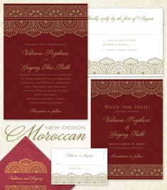 Moroccan Wedding Inv