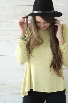 Swing Shirt - Mustard