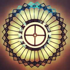 Look up at the Art Deco chandelier. | Flickr - Photo Sharing! with <3 from…