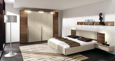 Moderne slaapkamer Van de Waerden