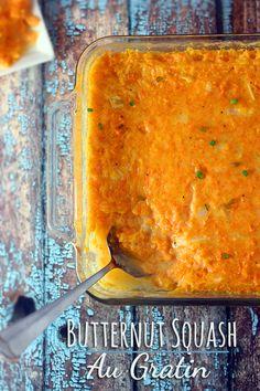 Easy to make Butternut Squash Au Gratin #recipe #WeekNightKitchen