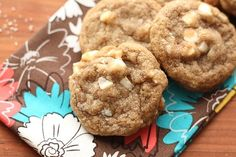 Brown Butter Chocolate Chip Macadamia Nut Cookies