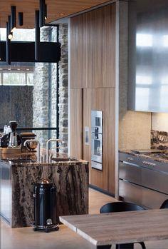 Best modern kitchen ideas you'll dream about 00003 Modern Kitchen Design, Interior Design Kitchen, Modern Kitchens, Nordic Kitchen, Dark Living Rooms, Kitchen Layout, Kitchen Ideas, Minimalist Interior, Modern Decor