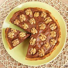 Chocolade Walnoot taart van Delicious (gemaakt op 23/03/2013 & 05/04/2013). Heerlijk en ei-vrij! Wordt een 'klassieker'