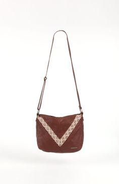 O'Neill Stonewood Crossbody Bag in Cognac