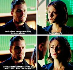 Arrow - Oliver & Thea #3.15 #Season3 #NandaParbat I want to bawl like a little bitch all the damn time because of this show