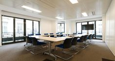 Meeting room into IHS' premises in Paris, France