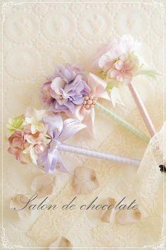 ♡ラデュレカラー フラワーペン♡ の画像|東京 クレイケーキ マカロンタワー リボンレッスン リボンリース お花の教室 代官山 恵比寿 salon de chocolate♡