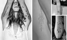 Geometric Arrow Tattoos Arrow Tattoos