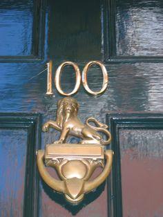 lion door knocker | Flickr - Photo Sharing!