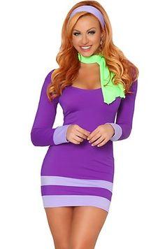 Super cute mock-daphne costume