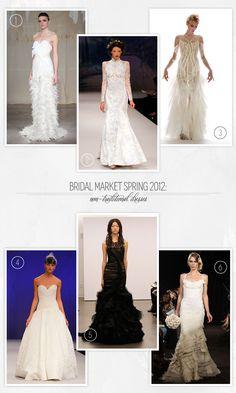 non-traditional wedding dresses | Non Traditional Wedding Dresses Bridal Market Spring 2012 550x916 ...