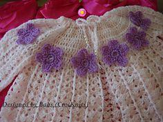 Ravelry: Sunday Best Crochet Baby Jacket pattern by Crocknits