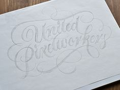 United Pixelworkers typography by Ryan Hamrick