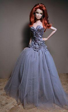 fashion doll, Doll, red hair