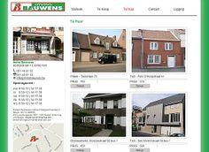 Webdesign projecten | web design projekten | website realisaties Immo Bauwens