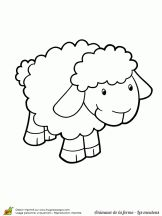 16 Meilleures Images Du Tableau Coloriages Mouton