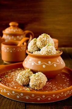 "Ground Rice Balls ""Aggala"" - looks delish!!"