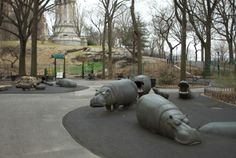 Riverside Park, Hippo Playground | 91st St | Playgrounds | Time Out New York Kids