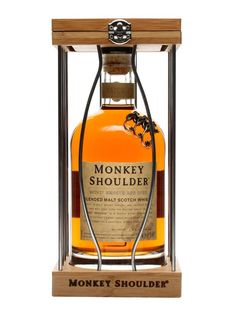 Monkey Shoulder's easy-drinking blend of three single malts - Balvenie, Glenfiddich and Kininvie. Named after the injury distillery workers were prone to suffering as a result of turning the malt,...