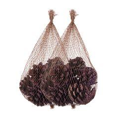 Dennenappels zijn onlosmakelijk verbonden met de herfst en mogen dus ook niet ontbreken op de herfsttafel!