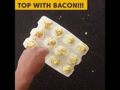 Deviled eggs for adults Bacon Blue Cheese Deviled Eggs - http ...