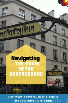 Getting around on the Paris Metro Underground Stations - Boy Versus World Paris Tips, Paris Travel Tips, Travel Ideas, Travel Inspiration, Plan Your Route, Travel Through Europe, Paris Metro, Metro Station, Spirit