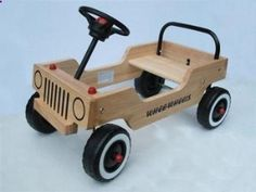 Whee-Wheels Toddler Riding Toy, Wood Kit...