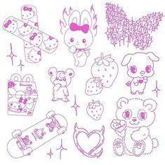 Cute Tiny Tattoos, Pretty Tattoos, Mini Tattoos, Body Art Tattoos, Small Tattoos, Cool Tattoos, Tatoos, Tattoo Sketches, Tattoo Drawings