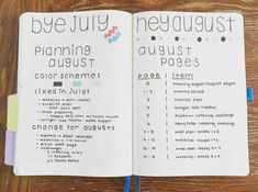 "Planning the ""planning"" of the next month in your Bullet Journal - Nerd alert! I love this idea!"
