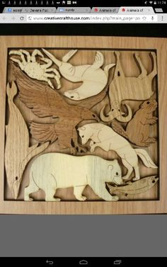 Wildlife tray puzzle