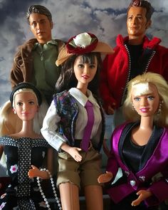 Beverly Hills 90210 Barbie 1990, Barbie Doll Set, Beautiful Barbie Dolls, Childhood Toys, Childhood Memories, 90s Theme, Beverly Hills 90210, 80s Kids, Best Tv Shows