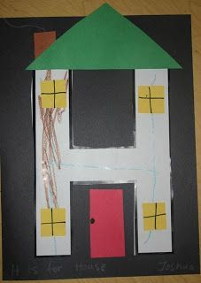 H is for House but ours will be Haunted Houses!