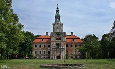 Old palace Chocianow, Poland.