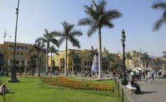 Best things to do in Lima, Peru. Photo: Plaza Mayor, Lima Peru