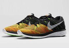 Nike Flyknit Lunar 3 – Black – Electric Green – Total Orange