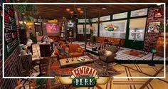 Riapre il #CentralPerk! Sì, il bar di Friends: il preferito di Ross, Rachel, Chandler, Monica, Phoebe e Joey. Nel cuore di #Manhattan, sarà identico a quello delle serie cult, per festeggiare vent'anni dalla prima puntata.